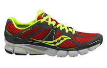 saucony Mirage 3  Lichtgewicht Hardloopschoenen Heren ProGrid grijs/rood